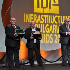 KONTRAX with a special award for contribution to the development of infrastructure in Bulgaria
