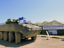 GENERAL DYNAMICS EUROPEAN LAND SYSTEMS PRESENTED IN BULGARIA ITS WHEELED ARMOURED VEHICLE 8Х8 - PIRANHA 5