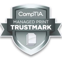 KONTRAX was awarded with certificate of trusted brand for print services management