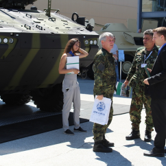 General Dynamics European Land Systems presents a new variant of PIRANHA IFV at the HEMUS Exhibition 2018