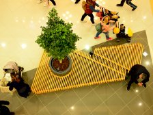 KONTRAX implemented a Delta Planet Mall Varna Design & Furniture Project